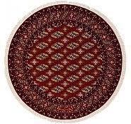 Red Round Rug Red 6 U0027 5 X 6 U0027 5 Bokhara Round Rug Area Rugs Esalerugs