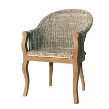 furniture seagrass dining room chair with swoop arms gorgeous