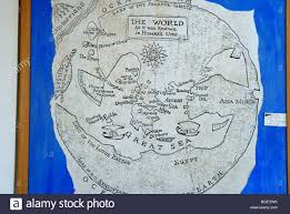 Map Og Map Of The Known World Of Homer U0027s Time On The Island Of Ithaka On