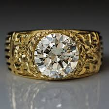 mens rings antique images Over 2 ct diamond rings antique jewelry vintage rings mens 3 carat jpg