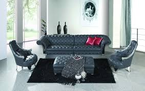 Bedroom Sofas Furniture by Online Get Cheap Leather Chesterfield Sofa Aliexpress Com