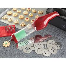 Wolfgang Puck Kitchen Knives Wolfgang Puck Cookie Press Red Factory Refurbished 208261