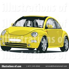 yellow volkswagen beetle royalty free vw bug clipart 32729 illustration by david rey