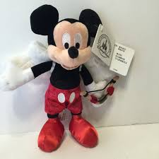 s day mickey mouse disney parks mickey mouse cupid s day plush new with tags