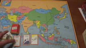 Asia Map Games by 10 Days In Asia Board Game Review Youtube