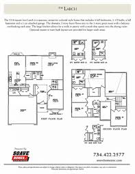 the larch soave homes inc floor plan