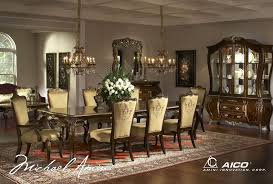 Michael Amini Dining Room Furniture Buy Imperial Court Dining Room Set By Aico From Www Mmfurniture