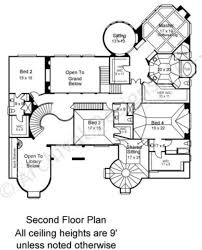 Second Floor Plan Kedleston French Country House Plans Luxury Floor Plans