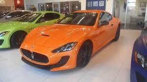 maserati mc12 orange orange maserati granturismo mc walround youtube