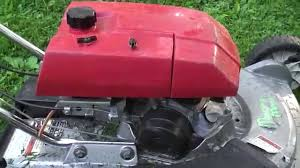honda mower of obscurity hrm21 sva youtube
