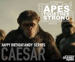 Planet Of The Apes Meme - happy birthday to andy serkis whose planet of the apes facebook