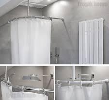 Shower Curtain Track Hooks Ceiling Shower Rail Ebay