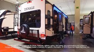 Denali Fifth Wheel Floor Plans by Dutchmen Denali 266rl Youtube