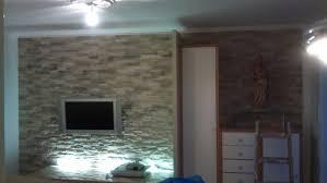 steinwand optik im wohnzimmer haus renovierung mit modernem innenarchitektur kleines steinwand