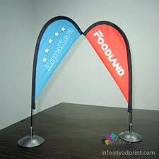 table top flag stands tabletop banner stand display cheap mini tabletop desktop bow flag
