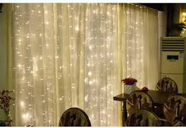 Indoor Curtain Fairy Lights 2 2 M Led Holiday Lighting Lights Curtain Garland Fairy Wedding