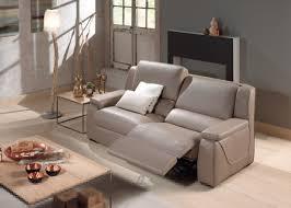 gorini canapé salon complet gorini toulouse brun clair canapé 3 places 2 relax