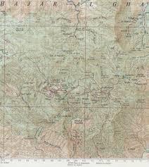 Map Of Oman Maps Of Jabal Al Akhdar