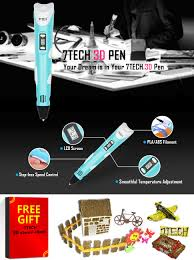 amazon com 7tech 3d pen new function art drawing design with lcd