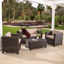 Outdoor Furniture Raleigh by Crosley Furniture Catalina Outdoor Wicker Round Sectional Sofa