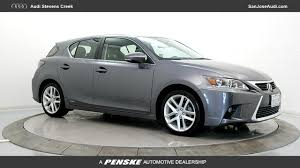 stevens creek lexus tires used 2016 lexus ct 200h for sale in san jose ca serving