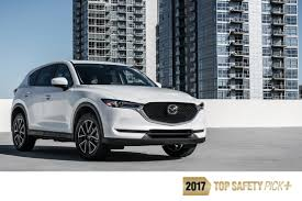 mazda 1 2017 mazda cx 5 joins entire mazda lineup1 tested as an iihs u0027top