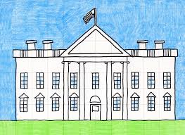 house to draw draw the white house art projects for kids