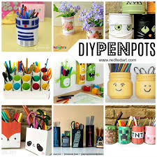 pencil holder diy ideas red ted art u0027s blog