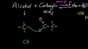 10 2 reactions of alcohols with carboxylic acids to form esters