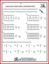 equivalent fractions with pattern blocks experinces are the