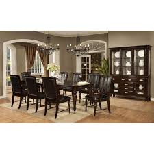set of 4 dining room chairs dundee place 7 piece dining set table with 4 side chairs and 2