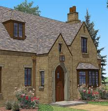 English Style House Plans by New South Classics English Cottage Classics