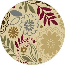 Round Modern Rug by 3 Foot Round Rugs Roselawnlutheran