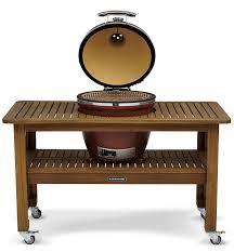 kamado joe grill table plans hero accessories eucalyptus big boys toys pinterest grill