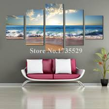 Wall Decor Canvas New Flip Flops Wall Plaque Beach Sign Tropical Decor Coastal Art