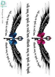 online get cheap temporary wing tattoos aliexpress com alibaba