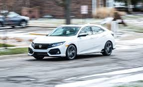 2017 honda civic hatchback cvt automatic review car and driver