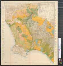 Map Of Burbank Ca Soil Map California Los Angeles Sheet The Portal To Texas History