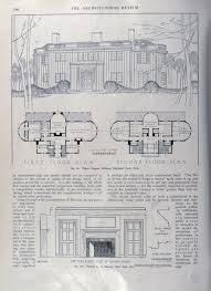 Whitemarsh Hall Floor Plan colonial revival the down east dilettante