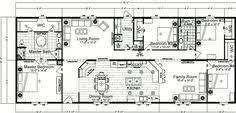 5 Bedroom Manufactured Home Floor Plans Doublewide Home Floor Plans 5 Bedroom Floor Plans 281 South