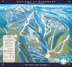 Map Montana by Montana Snowbowl Trail Map