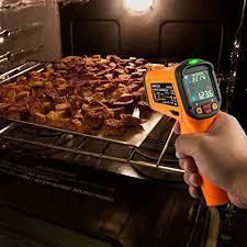 le infrarouge cuisine thermomètre infrarouge laser janisa ad6530d digitale cuisine