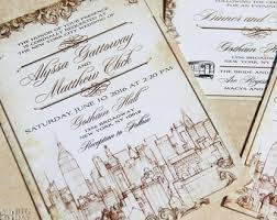 wedding invitations nyc etsy your place to buy and sell all things handmade