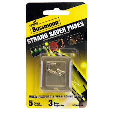 how to change fuse in christmas lights cooper bussmann holiday mini light fuse 5 pack bp mas 3a the