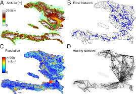 Rainfall Map Usa by Reassessment Of The 2010 U20132011 Haiti Cholera Outbreak And Rainfall
