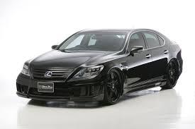lexus isf black wald lexus ls600h black bison edition