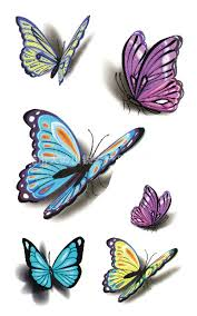 3d butterfly tattoos for 3d butterfly pattern for