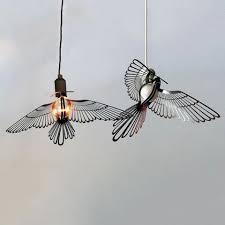 Bird Pendant Light Bird Lightbulb Garland Pendant Light Tudo Co Tudo And Co