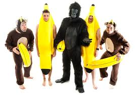 Banana Halloween Costume Jungle Stag Night Theme Night Freedom