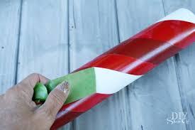 lighted pvc candy canes diy christmas home decor diy show off